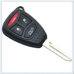 Chrysler Replacement Key